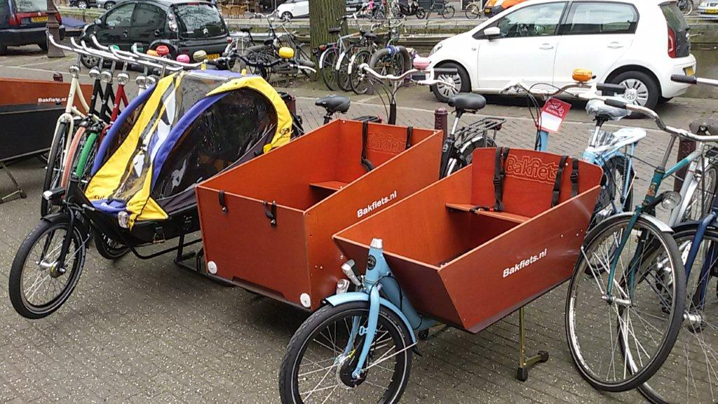 Cargo bikes require special consideration in terms of parking (they are often seen parked outside grocery stores).
